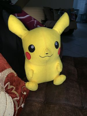 Pikachu plushy medium size for Sale in Diamond Bar, CA