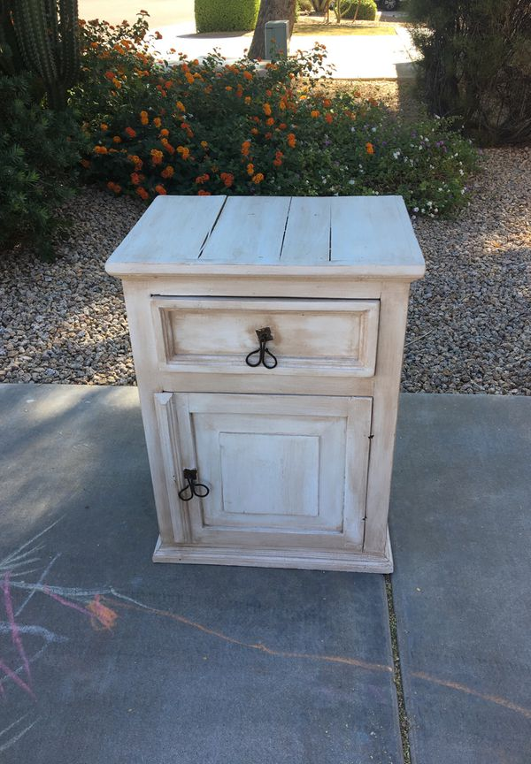 Made in Mexico end table or night stand