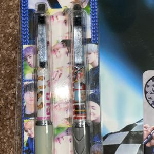 BTS Pen And Mechanical Pen Set With Rm Poster for Sale in Chantilly, VA