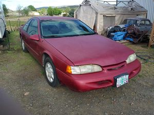 95 thunderbird coupe. Runs good. Needs a tune-up. Tags expired in Feb. Title in hand. for Sale in Metolius, OR