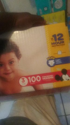 Huggies( size3)count100 $15 for Sale in Riviera Beach, FL