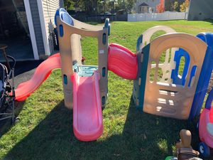 Little Tikes Playhouse and Slides. Originally paid $500 for Sale in Seekonk, MA