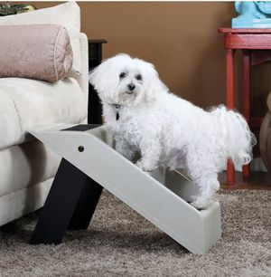 Dog Stairs for High Bed - Small Doggie Ramp Pet Steps for High Beds, Couch Sofa Truck Auto Vehicle - Folding Plastic Lightweight Heavy Duty Portable for Sale in Garden Grove, CA