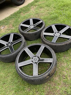 26 in Rims and Tires for Sale in Fort Worth, TX