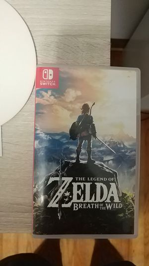 Zelda breath of the wild for Sale in Tucker, GA