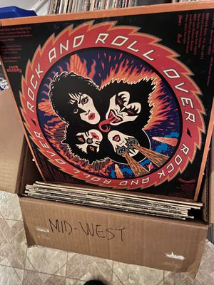 Kiss- Rock and roll over vinyl for Sale in San Antonio, TX
