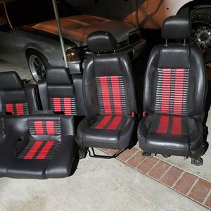Foxbody mustang shelby cobra seats $750 for Sale in Los Angeles, CA