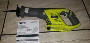 Ryobi 18 Volt Cordless Reciprocating Saw P515 new never used (TOOL ONLY) for Sale in Los Angeles, CA