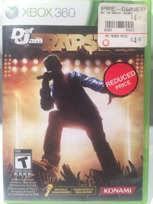Rapstar game for Xbox 360 for Sale in St. Louis, MO