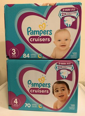 Pampers cruisers for Sale in Pacifica, CA