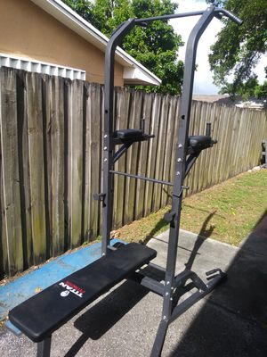 Titan power Tower home gym work out station for Sale in Miami, FL