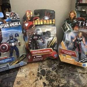 Iron Man, Captain America, Thor for Sale in Hawthorne, CA