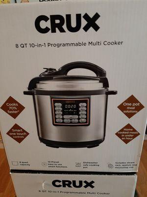 CRUX 8 Qt 10-in-1 Programmable Multicooker for Sale in Philadelphia, PA