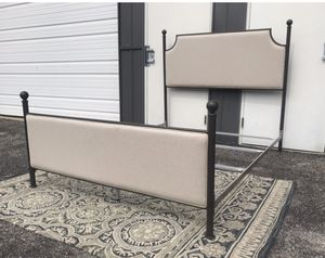 New Queen size adorable bed frame with headboard and footboard for Sale in Columbus, OH