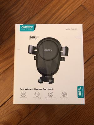 Wireless Car Charger 10W for Sale in Colesville, MD