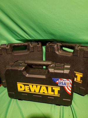 DEWALT TOOL HARD CASES for Sale in Beaumont, CA