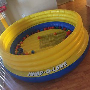 Jump-O-Lene with over 75plastic balls for Sale in Ashburn, VA