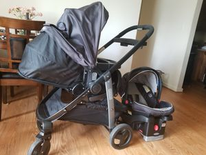 Graco click connect travel system for Sale in Falls Church, VA