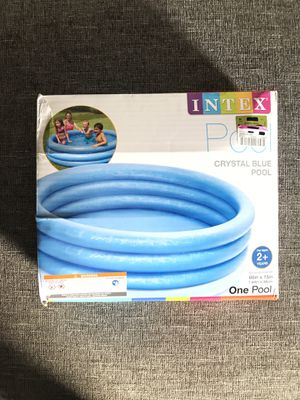 Intex Crystal Blue Children's Pool for Sale in Huntington Beach, CA