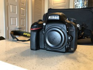 Nikon D600 with lens for Sale in Houston, TX