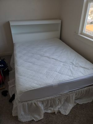 Mattress, box spring, bed frame and headboard for Sale in Milwaukee, WI