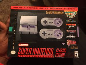 Super Nintendo classic for Sale in Nashville, TN