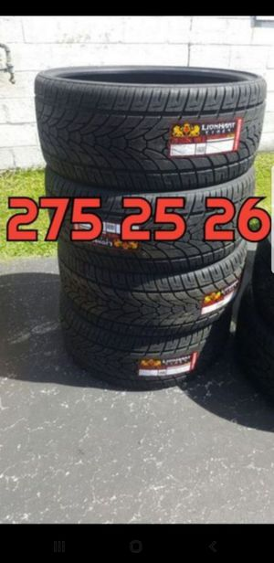 275 25 26 Lionhart Tires for Sale in Indianapolis, IN