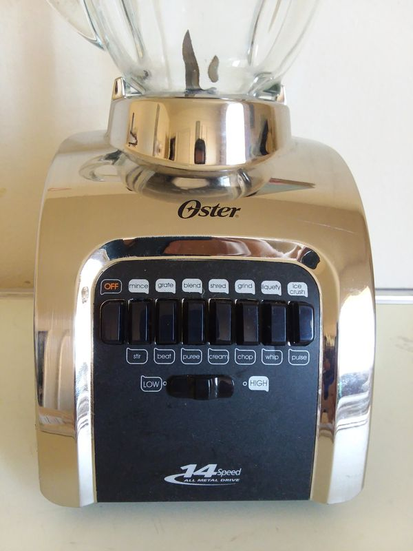 Oster 14 Speed All Metal Drive Blender 564A with Glass