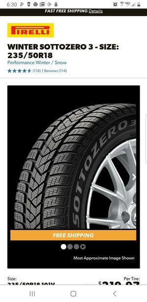 Pirelli 18inch Tires for Sale in Payson, AZ