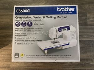 Brother CS6000i - Conputerized sewing & Quilting Machine for Sale in Portland, OR