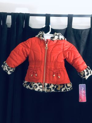 Girl Toddler Red Jacket 🧥 for Sale in Fresno, CA