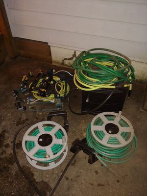 Garden hoses, sprinklers, nozzles, etc. for Sale in Rockville, MD