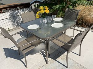 Patio dining table furniture seats for people for Sale in Chino Hills, CA