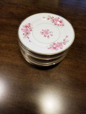 Fine China Dinner Plates Set of 10 Rosemont for Sale in Morgan Hill, CA
