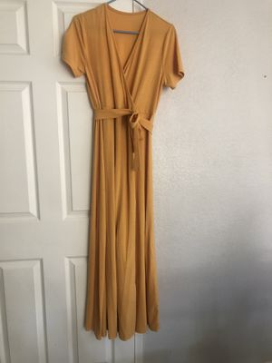 Women's Yellow Long Dress for Sale in Mission Viejo, CA