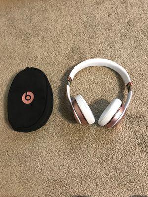 Rose quartz Beats SOLO 3 Bluetooth headphones for Sale in Seattle, WA