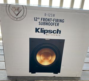 Klipsch Reference R-12SW for Sale in MORGANS POINT, TX