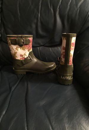 Ralph Lauren Rain Boots, size 8M for Sale in Falls Church, VA