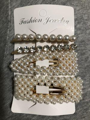 Pearl hair clips for Sale in Norwalk, CA