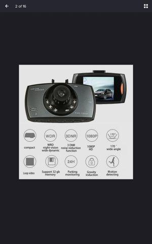 1080P FHD Car Car Camera DVR Driving Video Recorder Black, 480p for Sale in Leeds, AL