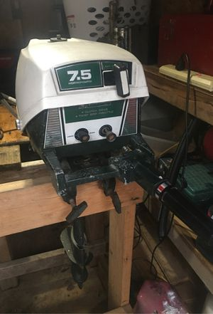 Vintage 7.5 hp Ted Williams boat motor for Sale in SeaTac, WA