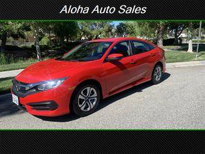 2017 Honda Civic LX for Sale in Santa Clarita, CA