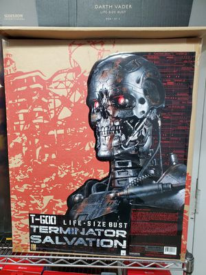 Sideshow collectibles Terminator Salvation Statue! Brand new for sale or trade! for Sale in Riverside, CA