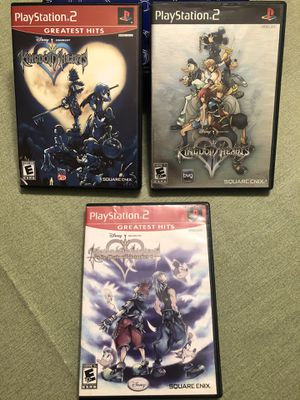 Kingdom hearts 1 2 Chain of Memories for ps2 PlayStation 2 video games for Sale in San Francisco, CA
