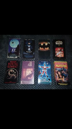 Vintage Classic VHS movies for Sale in San Diego, CA