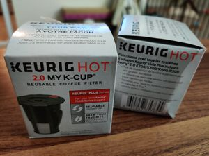 Brand New Keurig 2.0 reusable coffee filters (qty:2) for Sale in San Jose, CA