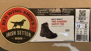 """RED WING MEN'S WORK 6"""" LACE-UP STEEL TOE Boots size 12 for Sale in Philadelphia, PA"""