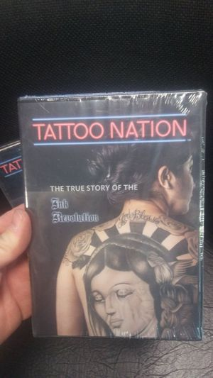 Tattoo Nation movie for Sale in NC, US