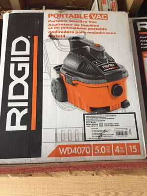 RIDGID PORTABLE VAC Brand New for Sale in Chantilly, VA