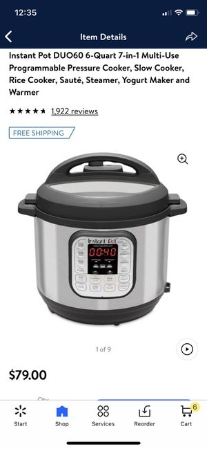 Instant pot for Sale in Fresno, CA